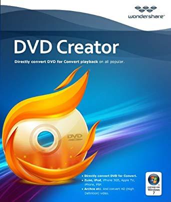 Wondershare DVD Creator 6.2.1 Crack Key With License Code