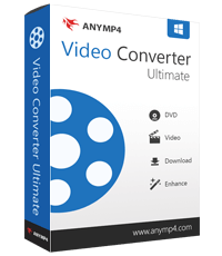 AnyMP4 Video Converter Ultimate 8.0.6 Crack Plus Patch 2020